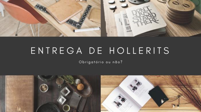 Obrigatoriedade de Entregar Hollerit
